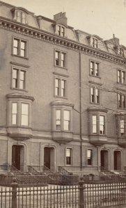 26-30 Commonwealth (ca. 1870), photograph by Frederick M. Smith, II; courtesy of the Print Department, Boston Public Library
