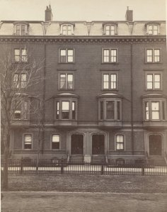 30-32 Commonwealth (ca. 1870), photograph by Frederick M. Smith, II; courtesy of the Print Department, Boston Public Library