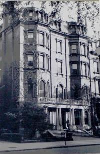 38-40 Commonwealth (ca. 1942), photograph by Bainbridge Bunting, courtesy of the Boston Athenaeum