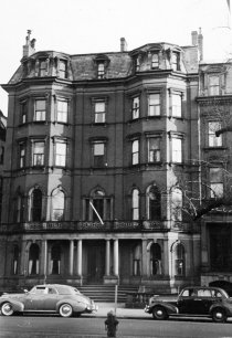 38-40 Commonwealth (ca. 1942), photograph by Bainbridge Bunting, courtesy of The Gleason Partnership