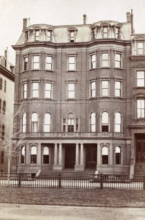 38-40 Commonwealth (ca. 1870), photograph by Frederick M. Smith, II; courtesy of the Print Department, Boston Public Library