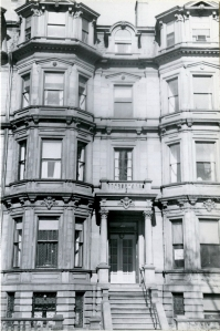 39 Commonwealth (ca. 1942), photograph by Bainbridge Bunting, courtesy of the Boston Athenaeum