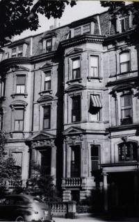 44 Commonwealth (ca. 1942), photograph by Bainbridge Bunting, courtesy of the Boston Athenaeum