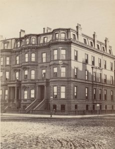 46-48 Commonwealth (ca. 1870), photograph by Frederick M. Smith, II; courtesy of the Print Department, Boston Public Library