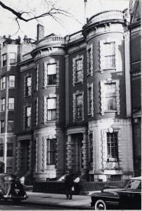 58-60 Commonwealth (ca. 1942), photograph by Bainbridge Bunting, courtesy of the Boston Athenaeum