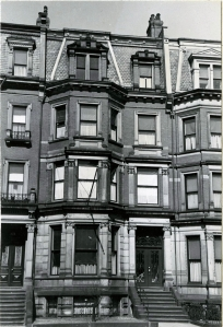 61 Commonwealth (ca. 1942), photograph by Bainbridge Bunting, courtesy of the Boston Athenaeum