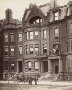 88 Commonwealth (ca. 1890); courtesy of the Print Department, Boston Public Library