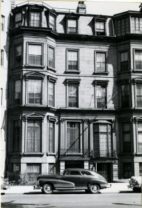 111 Commonwealth (ca. 1942), photograph by Bainbridge Bunting, courtesy of the Boston Athenaeum