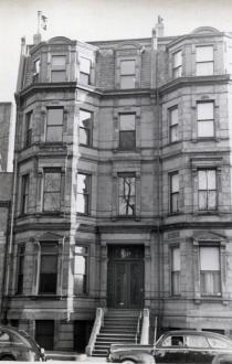 114 Commonwealth (ca. 1942), photograph by Bainbridge Bunting, courtesy of The Gleason Partnership