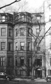 115 Commonwealth (ca. 1942), photograph by Bainbridge Bunting, courtesy of The Gleason Partnership