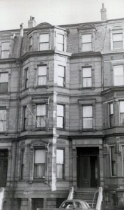 116 Commonwealth (ca. 1942), photograph by Bainbridge Bunting, courtesy of The Gleason Partnership