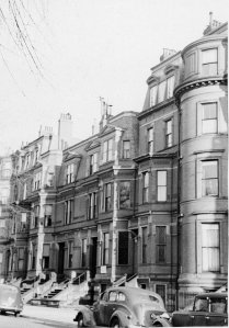 118-124 Commonwealth (ca. 1942), photograph by Bainbridge Bunting, courtesy of The Gleason Partnership