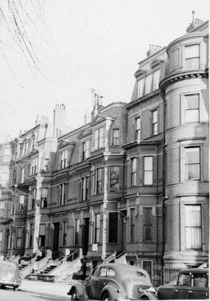 118-124 Commonwealth (ca. 1942), photograph by Bainbridge Bunting, courtesy of The Gleason Partnership