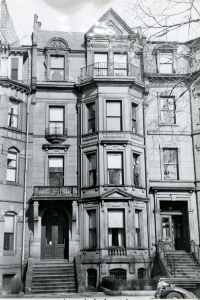119 Commonwealth (ca. 1942), photograph by Bainbridge Bunting, courtesy of the Boston Athenaeum
