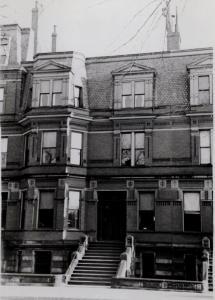 120 Commonwealth (ca. 1942), photograph by Bainbridge Bunting, courtesy of The Gleason Partnership
