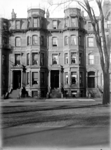 123-125 Commonwealth (ca. 1927), courtesy of the Bostonian Society