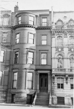 126 Commonwealth (ca. 1942), photograph by Bainbridge Bunting, courtesy of The Gleason Partnership