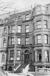 132 Commonwealth (ca. 1942), photograph by Bainbridge Bunting, courtesy of The Gleason Partnership