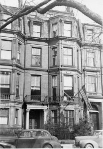 133 Commonwealth (ca. 1942), photograph by Bainbridge Bunting, courtesy of The Gleason Partnership