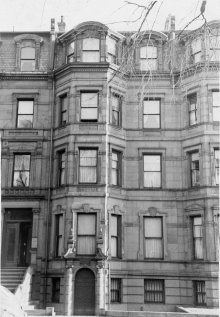 146 Commonwealth (ca. 1942), photograph by Bainbridge Bunting, courtesy of The Gleason Partnership