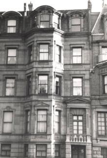 148 Commonwealth (ca. 1942), photograph by Bainbridge Bunting, courtesy of The Gleason Partnership