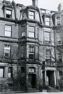 151 Commonwealth (ca. 1942), photograph by Bainbridge Bunting, courtesy of the Boston Athenaeum