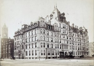 Hotel Vendôme (ca. 1890); courtesy of the Print Department, Boston Public Library