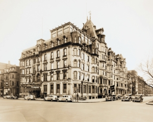 Hotel Vendome in the 1930s; courtesy of Historic New England