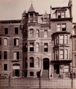 163-165 Commonwealth (ca. 1883), photograph by Albert Levy; Ryerson and Burnham Libraries Book Collection, The Art Institute of Chicago (Digital file #000000_100709-16).