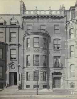 167 Commonwealth (ca. 1880); Ryerson and Burnham Archives, The Art Institute of Chicago (Digital file #51191).