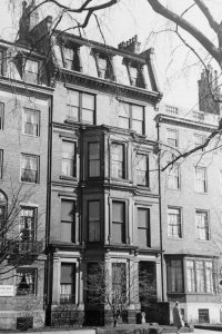 171 Commonwealth (ca. 1942), photograph by Bainbridge Bunting, courtesy of The Gleason Partnership