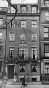 173 Commonwealth (ca. 1942), photograph by Bainbridge Bunting, courtesy of The Gleason Partnership