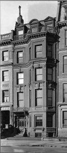 "173 Commonwealth (ca. 1915), ""Executed Works of Thomas, Parker, and Rice."""