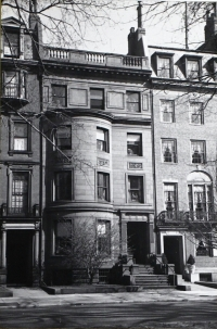 175 Commonwealth (ca. 1942), photograph by Bainbridge Bunting, courtesy of the Boston Athenaeum