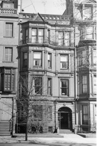 179 Commonwealth (ca. 1942), photograph by Bainbridge Bunting, courtesy of The Gleason Partnership