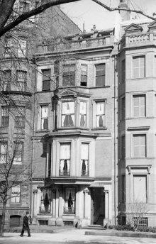 183 Commonwealth (ca. 1942), photograph by Bainbridge Bunting, courtesy of The Gleason Partnership