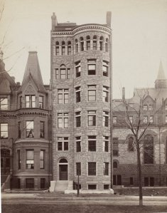 184 Commonwealth (ca. 1889); courtesy of the Print Department, Boston Public Library