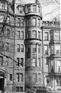 185 Commonwealth (ca. 1942), photograph by Bainbridge Bunting, courtesy of The Gleason Partnership