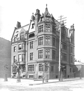 19 Exeter and 197 Commonwealth )ca. 1885), courtesy of the Bostonian Society
