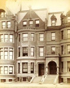196 Commonwealth (ca. 1890), photograph by Soule Photograph Co.; courtesy of Historic New England
