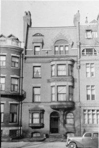 197 Commonwealth (ca. 1942), photograph by Bainbridge Bunting, courtesy of The Gleason Partnership