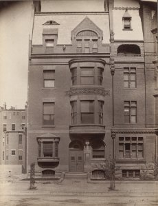 197 Commonwealth (ca. 1885); courtesy of the Print Department, Boston Public Library