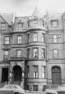 198 Commonwealth (ca. 1942), photograph by Bainbridge Bunting, courtesy of The Gleason Partnership