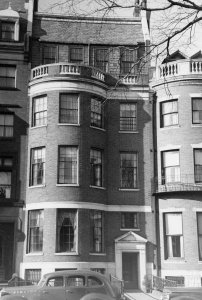 203 Commonwealth (ca. 1942), photograph by Bainbridge Bunting, courtesy of The Gleason Partnership