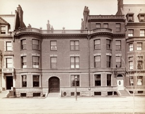 207-211 Commonwealth (ca. 1890); Soule Photograph Company, courtesy of Historic New England