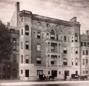 217 Commonwealth (ca. 1888), courtesy of the Boston Public Library, Print Department