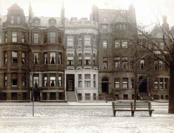 228-236 Commonwealth (ca. 1900); photograph by Baldwin Coolidge, courtesy of Historic New England