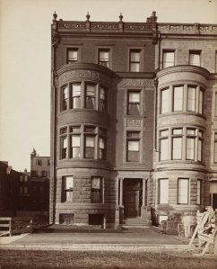 229 Commonwealth (ca. 1884); courtesy of the Print Department, Boston Public Library