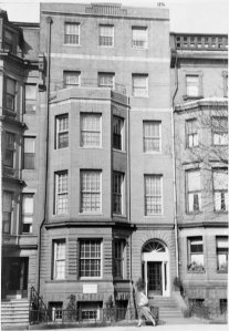 233 Commonwealth (ca. 1942), photograph by Bainbridge Bunting, courtesy of The Gleason Partnership