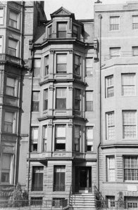 235 Commonwealth (ca. 1942), photograph by Bainbridge Bunting, courtesy of The Gleason Partnership